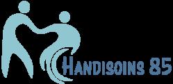 Logo Handisoins 85 pour entête de site