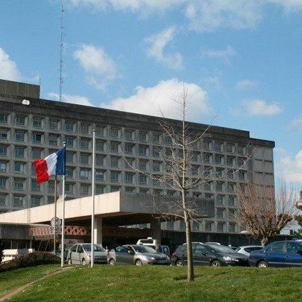 Bâtiment principal du CHD de Vendée
